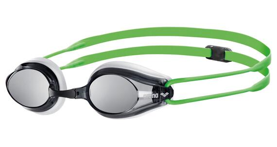 arena Tracks Mirror Goggles white-smoke-green